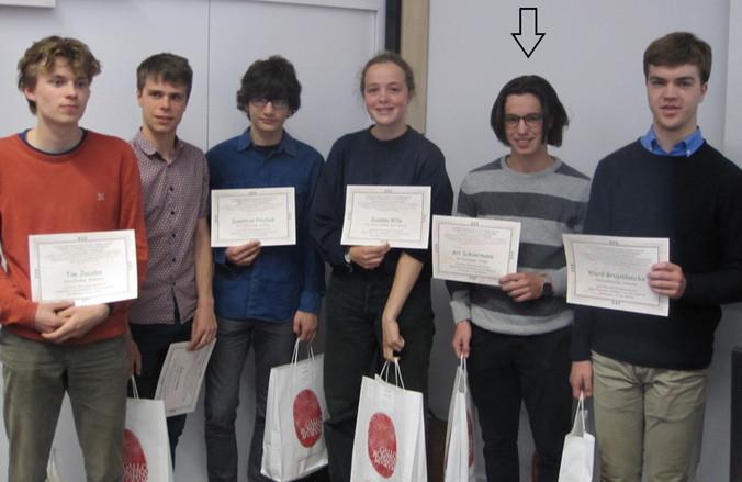 Art Schuermans laureaat Platowedstrijd