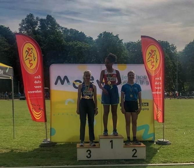 Vlaams kampioenschap atletiek.