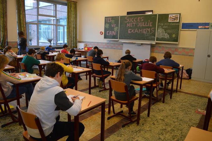 Examens ... achter de schermen