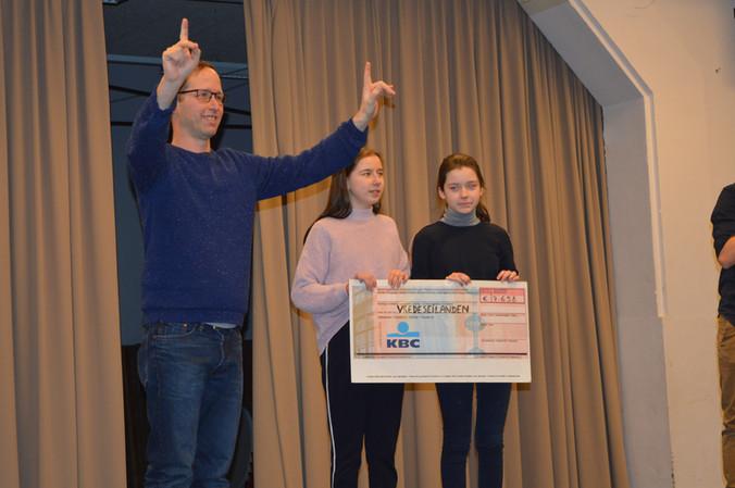 SJT haalt 7.658 euro op voor Rikolto (Vredeseilanden)