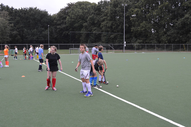 professionele Hockey-training