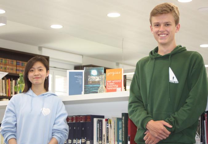 Linh en Elias vallen in de prijzen bij de Platowedstrijd