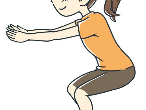 スクワットの仕方 セルフトレーニング