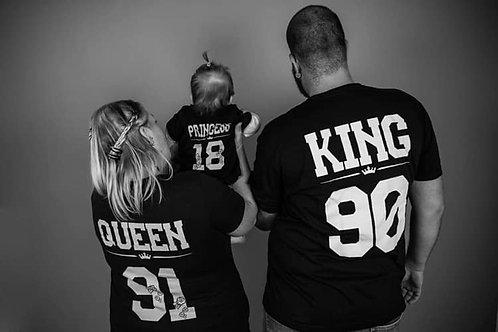 King/Queen/Princess/Prince ERWACHSENE