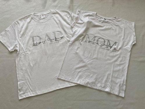 MOM/DAD mit Kindernamen