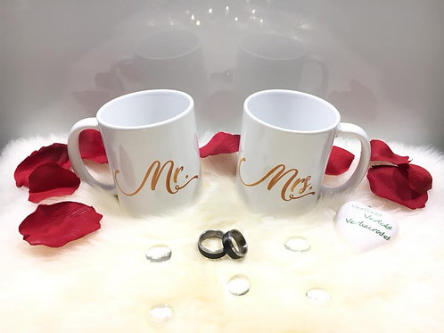 Tasse Mr. & Mrs.