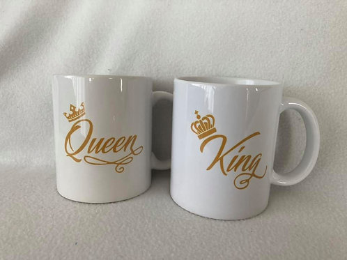 Tasse King & Queen