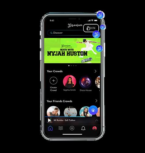 Earn Points For Listening & Sharing Music On Geojam