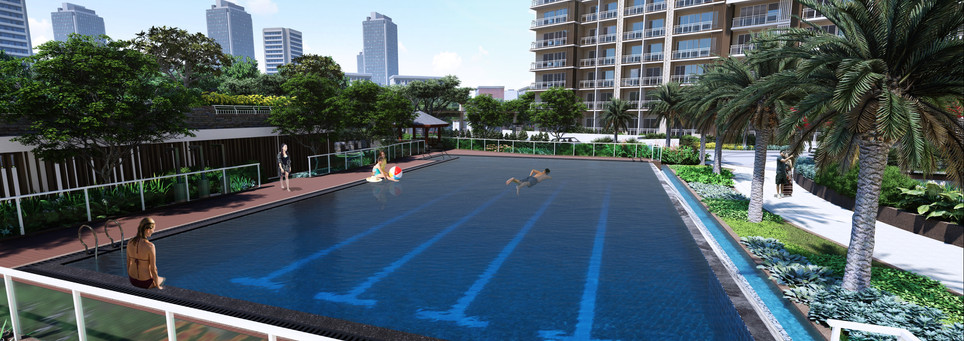Allegra Garden Place Lap Pool