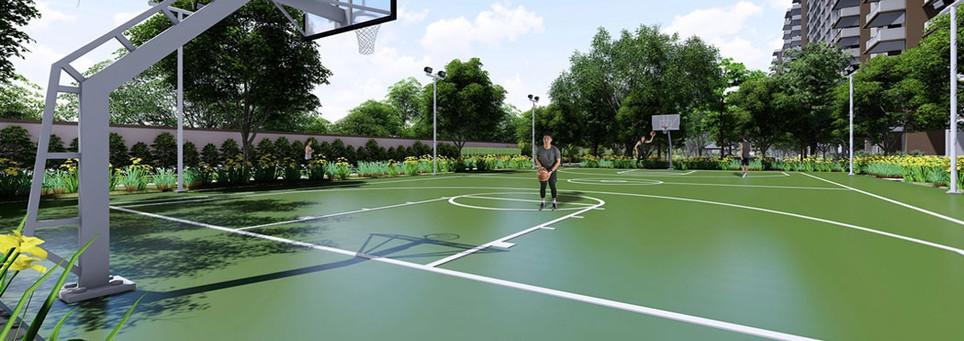 Satori Residences Basketball Court