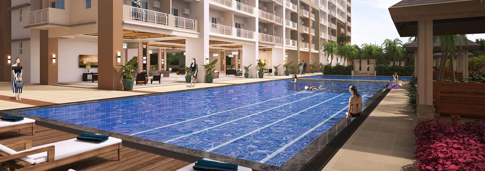 Infina Towers Lap Pool-la