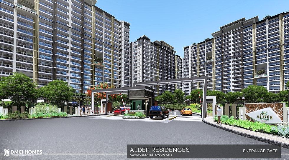 Alder Residences-Main Entrance Gate-larg