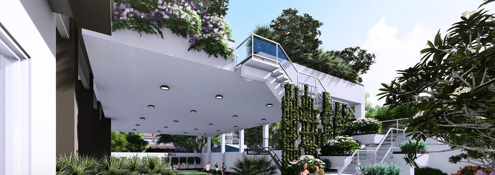 Upper Deck Garden