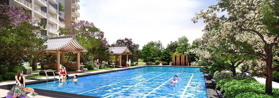 Kai Garden Residences Lap Pool