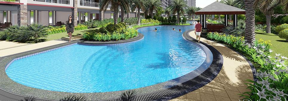 Satori Residences Lounge Pool