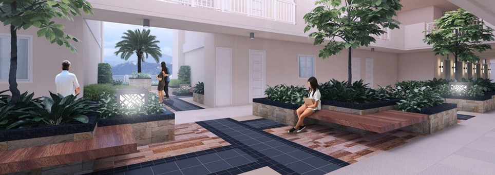Infina Towers Landscaped Atriums