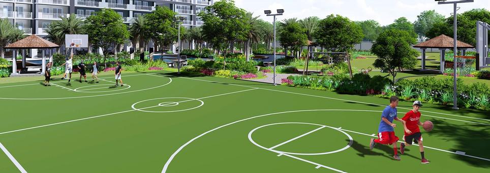 Sonora Garden Residences Basketball Court