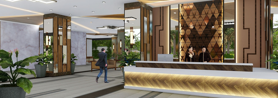 Sonora Garden Residences Reception Lounge