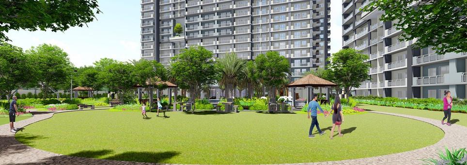 Sonora Garden Residences Activity Lawn