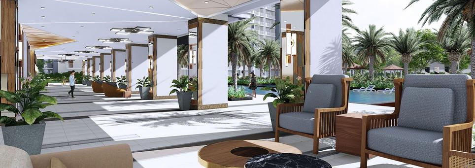 Sonora Garden Residences Lounge Area