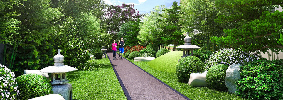 Kai Garden Residences Jogging Path