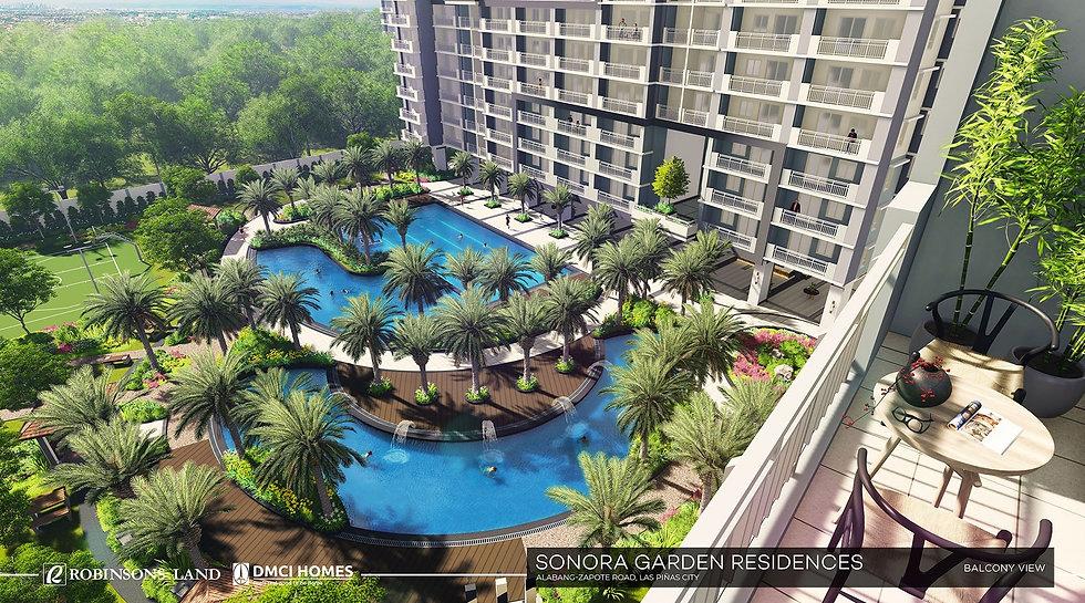 Sonora Garden Residences-Balcony View-la