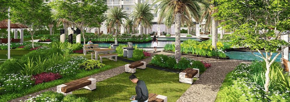 Sonora Garden Residences Picnic Area
