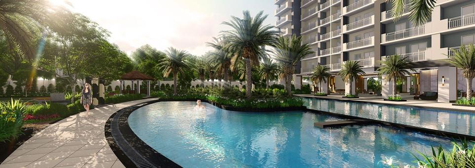 Sonora Garden Residences Leisure Pool