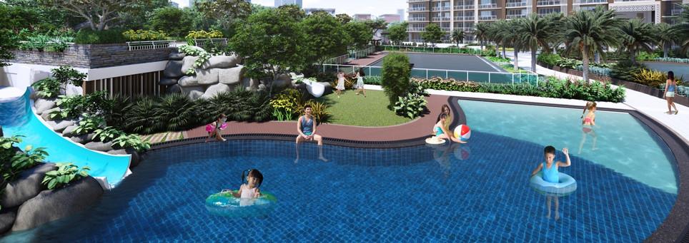Allegra Garden Place Kiddie Pool