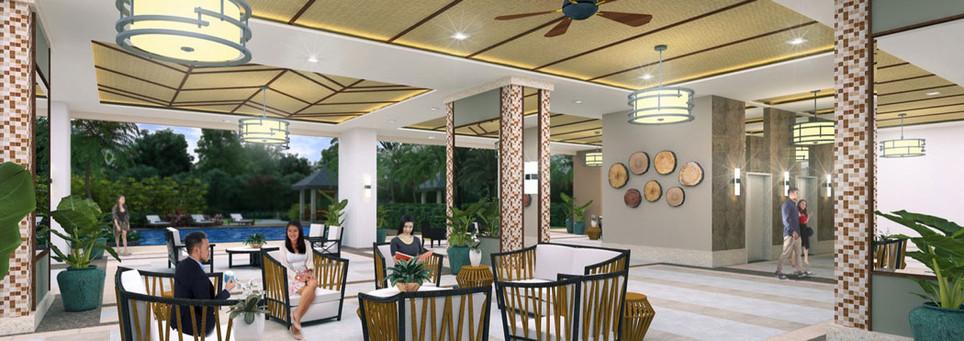 Infina Towers Lounge Area