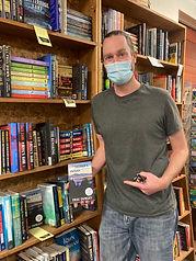 Eric Dorsey at Fact & Fiction Bookstore