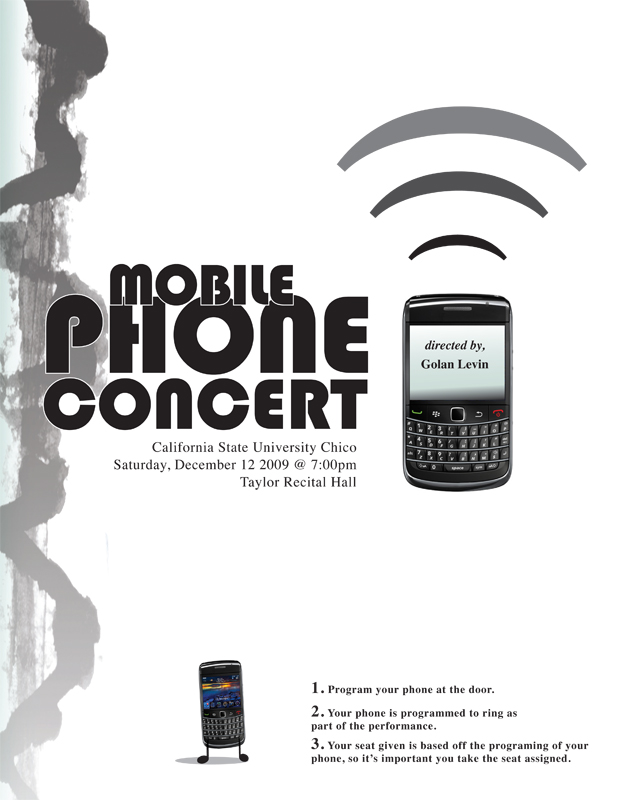 Mobile Phone Concert CSU Chico Free