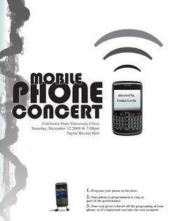 Mobile Phone Concert CSU Chico Free