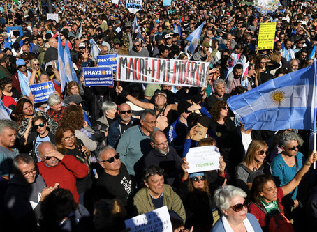 Long standing problem of human rights in argentina