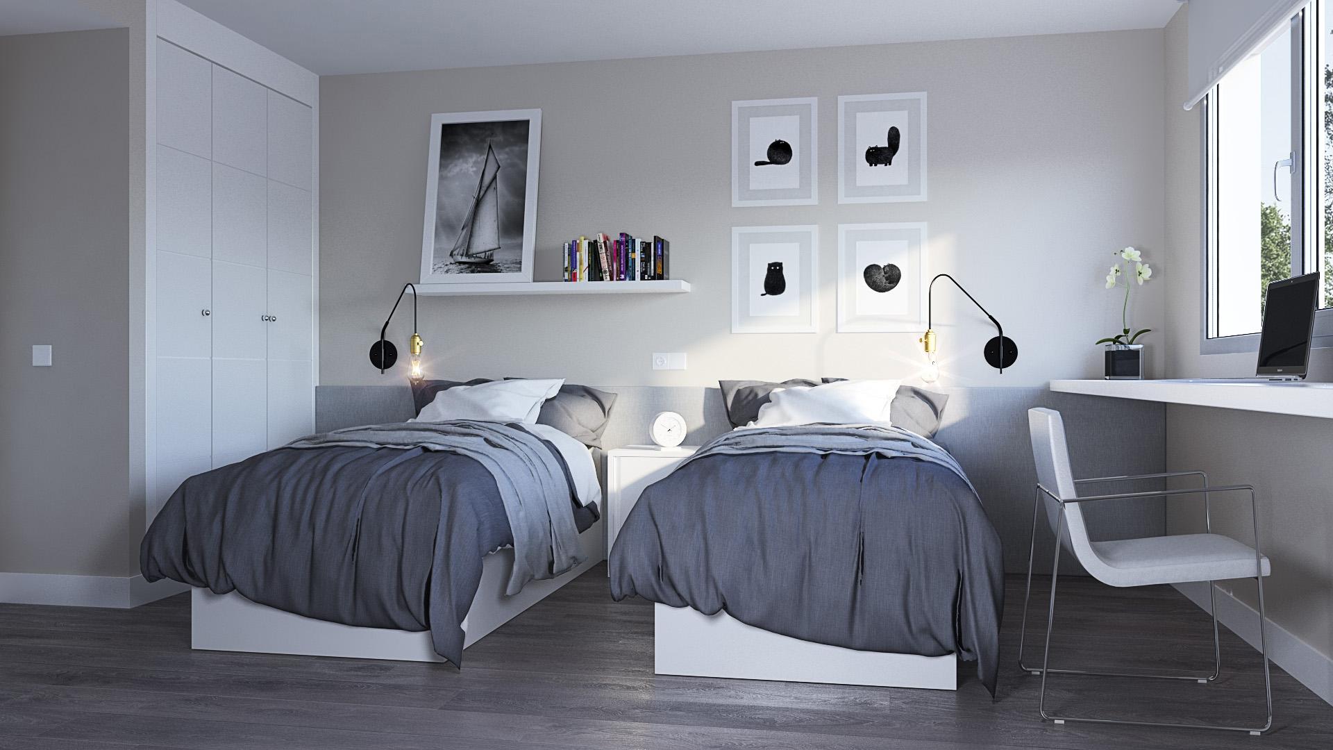 VALDEBEBAS Imagen Dormitorio Secundario