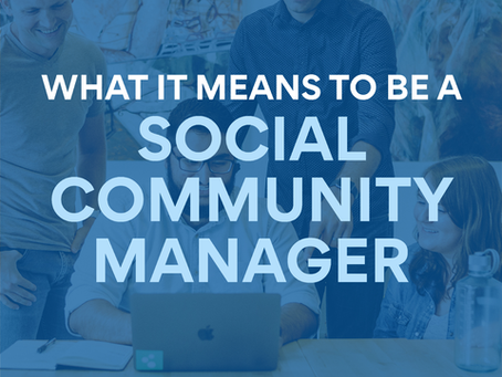 What it Means to be a Social Community Manager