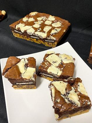 Oreo Chocolate Brookie Tray