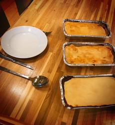 Meat & Potato Family Pie