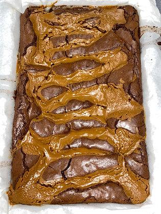 Biscoff Brownie Tray