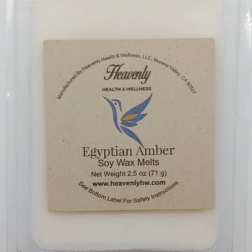 Egyptian Amber- 2.5oz Handcrafted, Soy Wax Melt