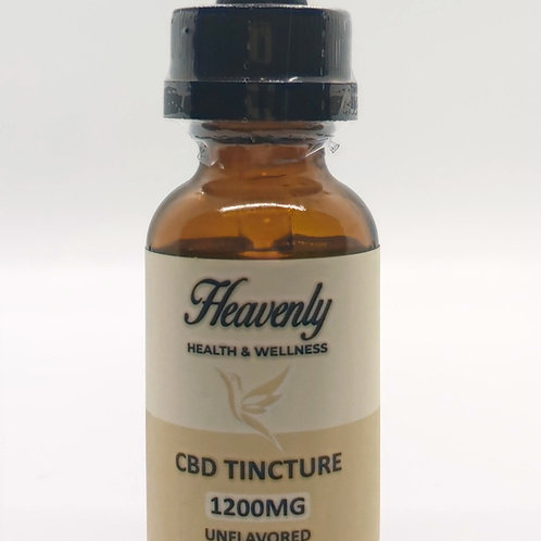 1200mg - Unflavored CBD Oil