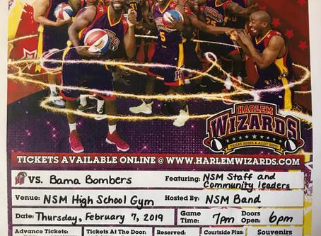 North Sand Mountain High Hosts Harlem Wizards Fundraiser Feb. 7
