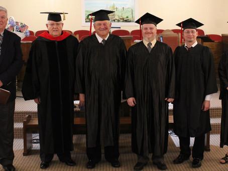 Faith Bible Institute Graduates Three