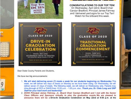 Superintendent's Message April 27, 2020