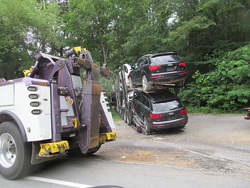 Car Carrier Crash Complicates Commute