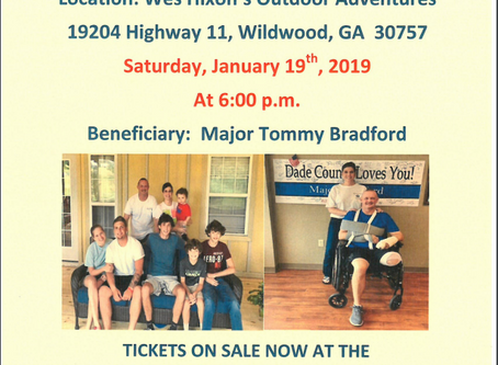 Sheriff Cross Invites All to His Annual Fundraiser This Saturday