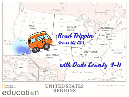 Go (Virtual) Road-Trippin' Across the USA With Dade 4-H