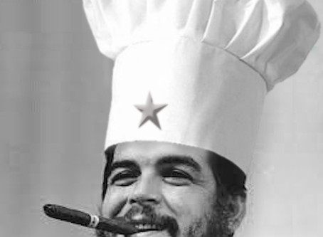 The Revolution Will Not Be Hydrolized ... Chef Guevara Makes Hot & Sour Soup From Homemade Broth