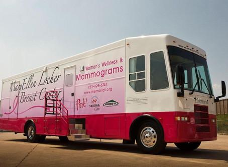 Mammogram Bus Back at PHC in Trenton Next Week.