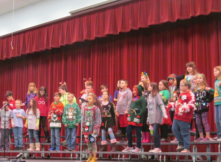 Dade Board of Education Hears Carols, Accepts Bids